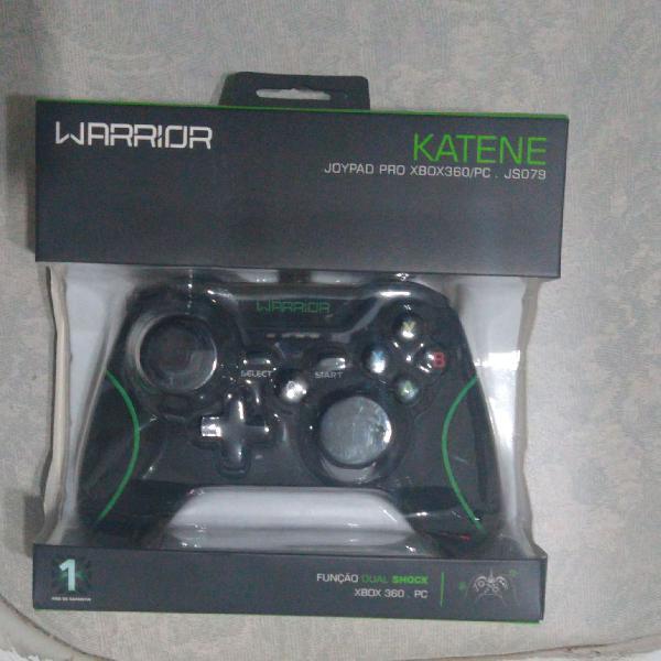 Controle pc/ xbox 360 warrior