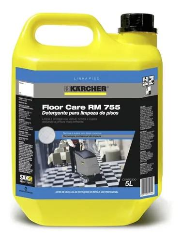 Detergente lavadora secadora piso floor care rm755 karcher