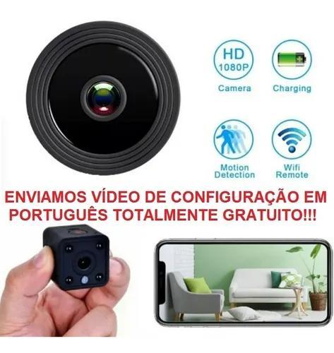 Mini câmera ip s