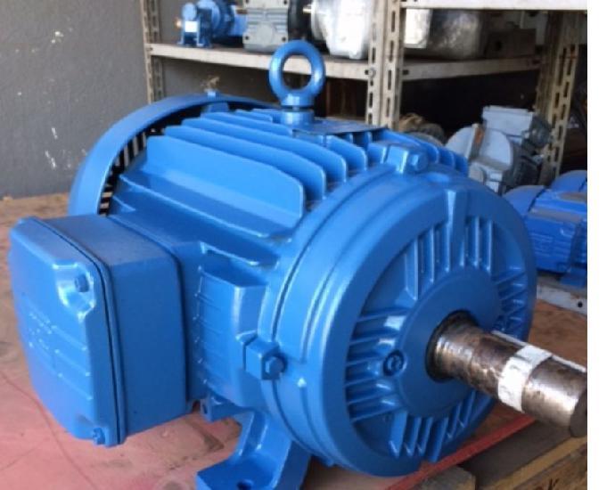 Motor elétrico weg 12,5 cv 1100 rpm 6 pólos trif não é
