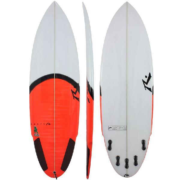 Prancha de surf rusty chupacabra 6.1 fcs2 - surf alive