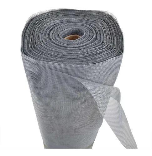 Tela mosquiteiro 2,14 m fibra de vidro limpa estoque