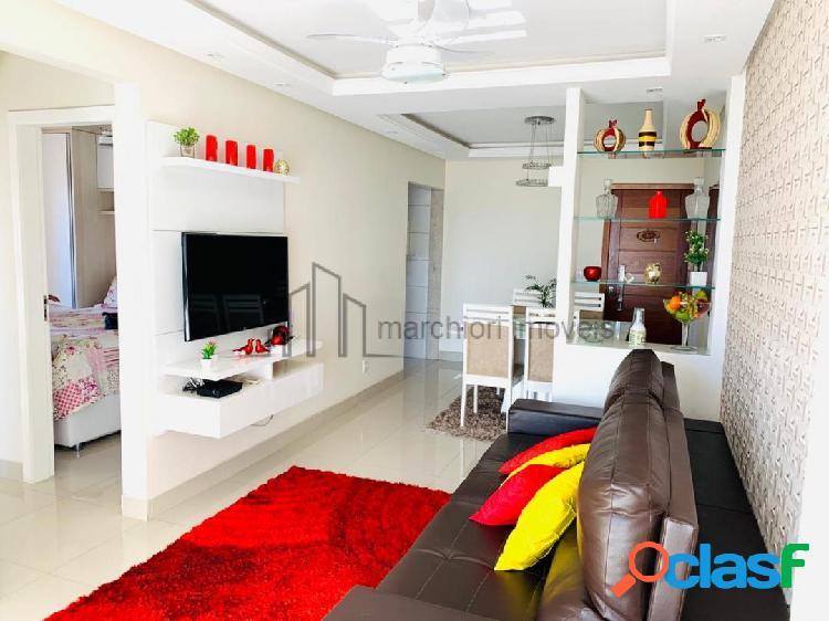 Apartamento 2 quartos 1 suíte montado decorado
