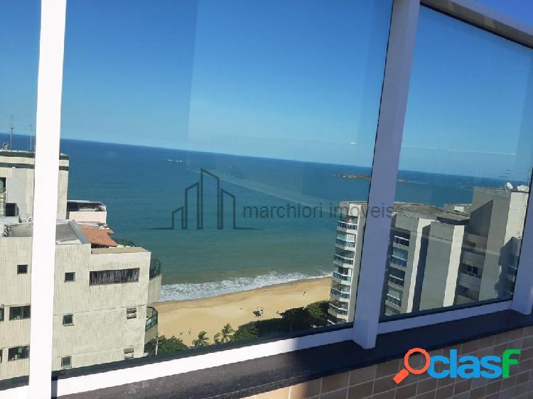 Apartamento 2 quartos vista pro mar varanda gourmet