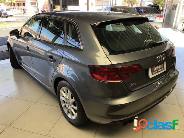 Audi a3 sportback 1.4 tfsi s-tronic cinza 2014 1.4 gasolina