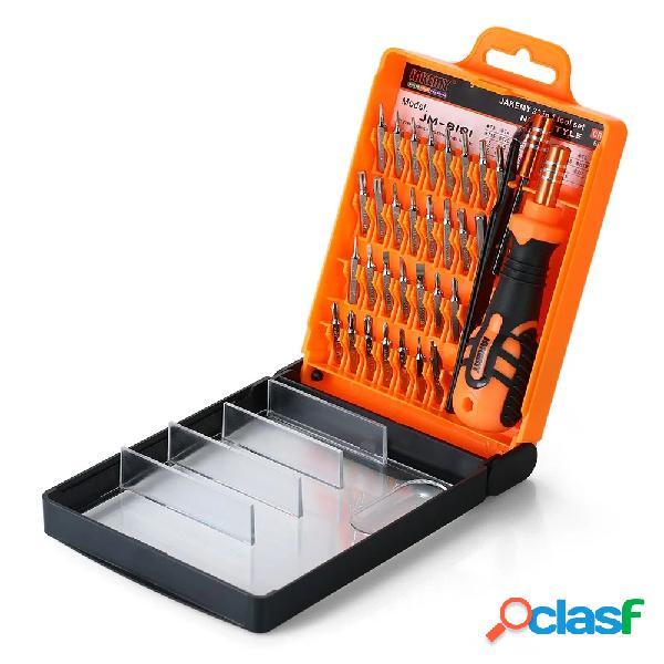 Jakemy jm-8101 33 em 1 precisão magnética chave de fenda chave de fenda bits repair tool kit