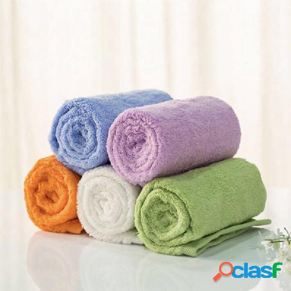 Toalhas antibacterianas da absorção de água da tela de algodão de microfiber da toalha da série da juventude de xiaomi