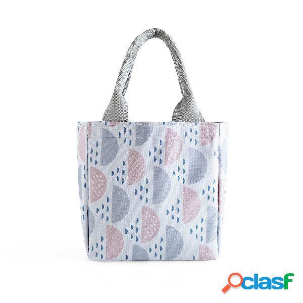 Molho boca isolamento pacote piquenique ao ar livre bolsa à prova d 'água fresco frio almoço portátil bolsa
