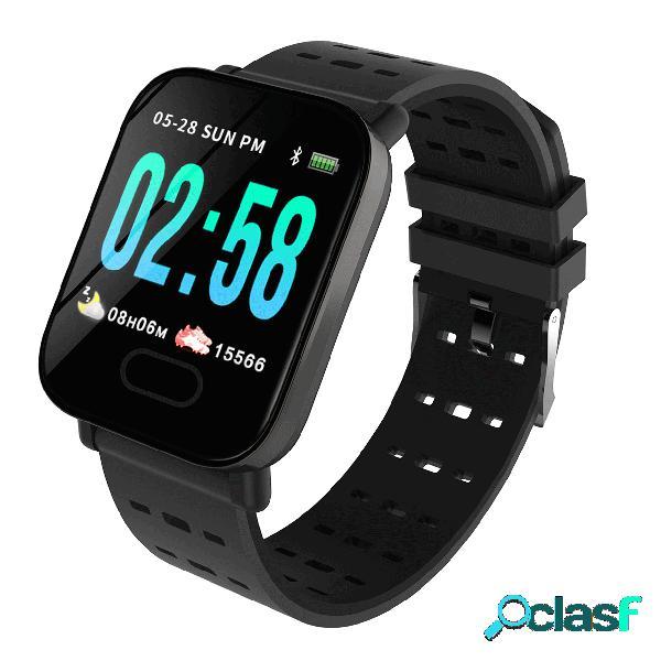 Esporte relógio inteligente big screen tempo real hr sangue pressão de oxigênio longa espera relógio digital
