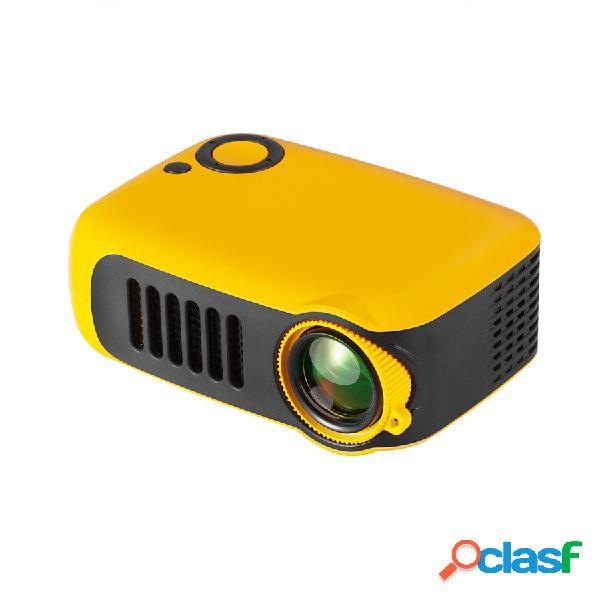 Transjee a2000 projector 800 suportado 1080p 23 idiomas projetor de vídeo para home theater