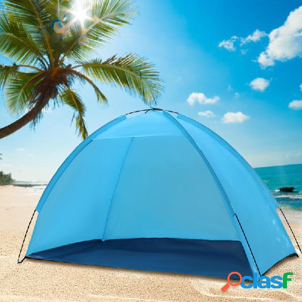 Outdoor beach beach tent sunshade anti-uv sun shelter single layer camping canopy