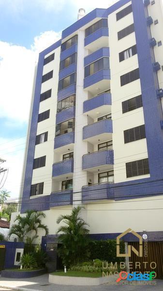 Apartamento semi mobilado a venda no bairro vila nova em blumenau sc