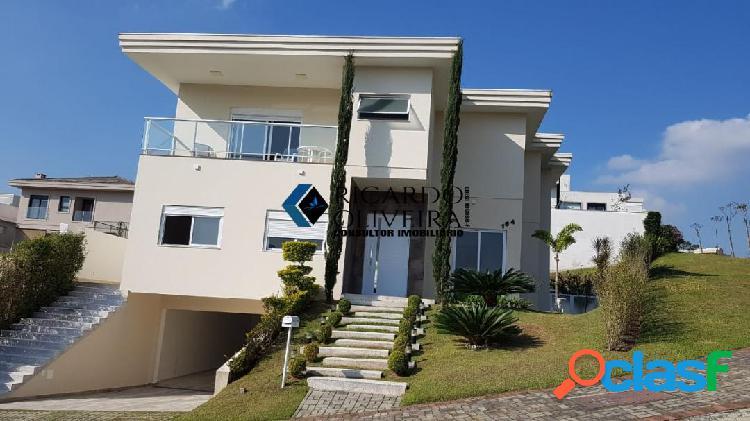 Casa a venda em condomínio de santana de parnaíba, residencial ithayê