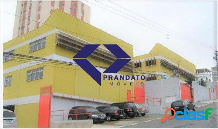 Galpão comercial campo belo sp com 03 pavimentos 2020 m² a c