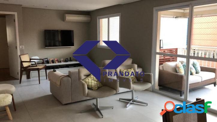 Apartamento à venda Vide Campo Belo com 123m², 3 quartos e 2 vg