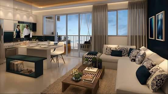 Alphaville 49m² 1 suite 2 dorms 2 vagas acqua park