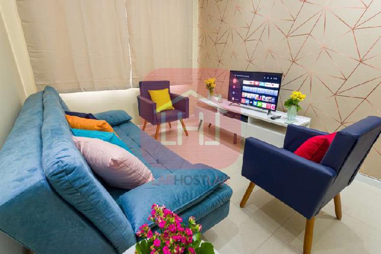 Apartamento a venda 2 dormitórios 3 split 1 quadra av beira
