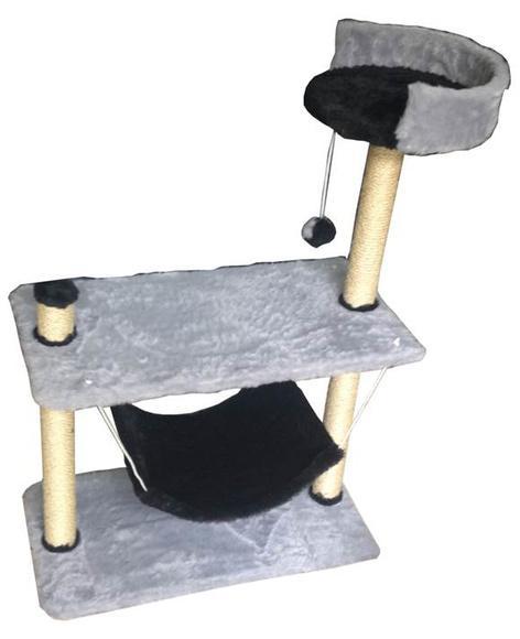 Arranhador para gato balanço rede tam: 70x35x85 cm mod.