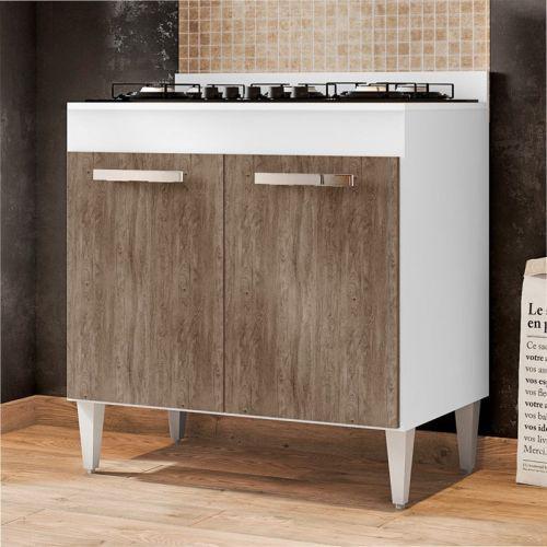 Balc/u00e3o de cozinha cooktop roma 2 portas