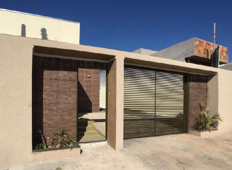Casa nova no bairro ipê i em mirassol com 70 metros