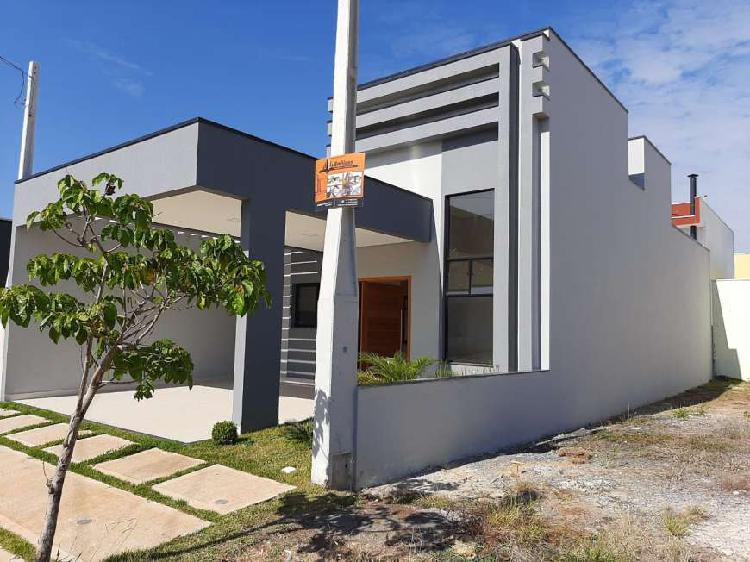 Casa de condomínio para venda possui 110 metros quadrados