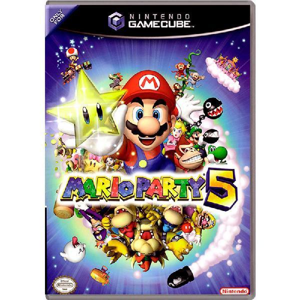 Jogo mario party 5 - gamecube