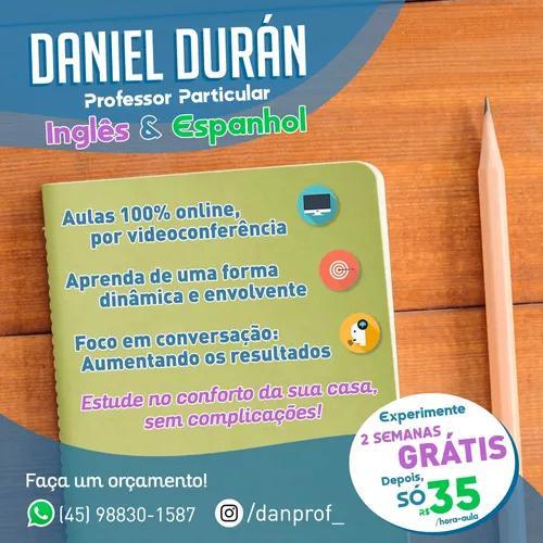 Aproveite a quarentena! aulas virtuais de inglês e espanhol
