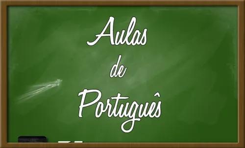 Aula particular de português