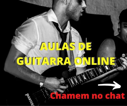 Aulas de guitarra online