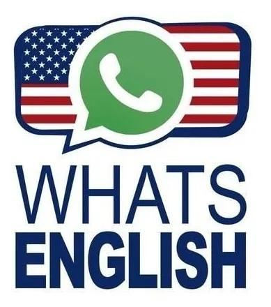 Aulas de inglês on line via whatsapp