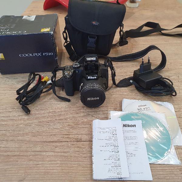 Câmera nikon coolpix p510 (seminova)