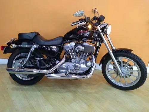 Harley davidson xl 883 2006 preta