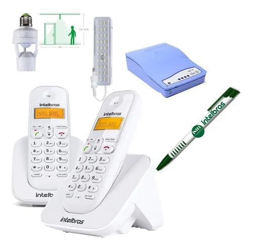 Kit aparelho telefone id bina ramal entrada chip celular 3g