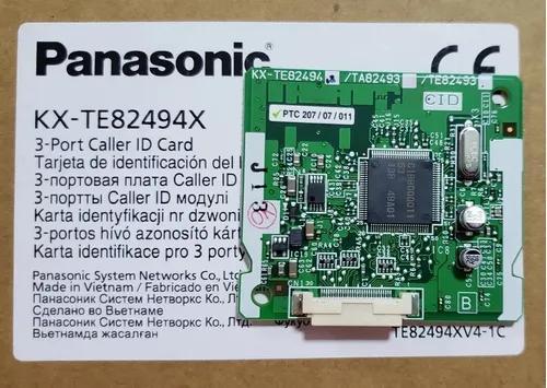 Módulo identificador de chamadas panasonic tes32