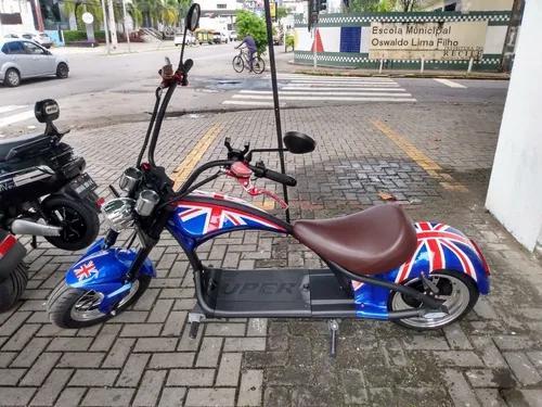 Moto elétrica chooper - 2000w