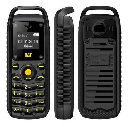Preto l8star b25 mini telefone 0.6 polegada 380 mah bluetoot