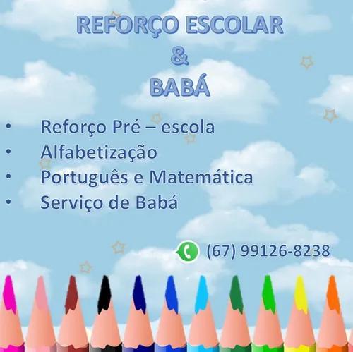 Reforço pré - escola português / mat