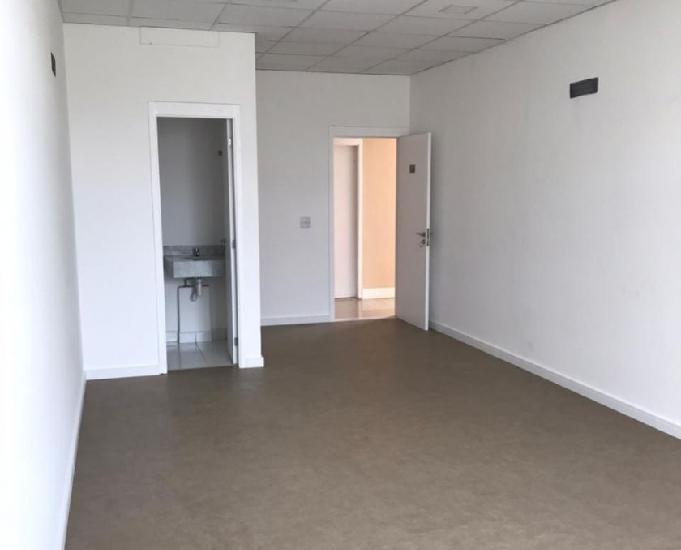 Sala comercial com 1 vaga no condomínio rossi office