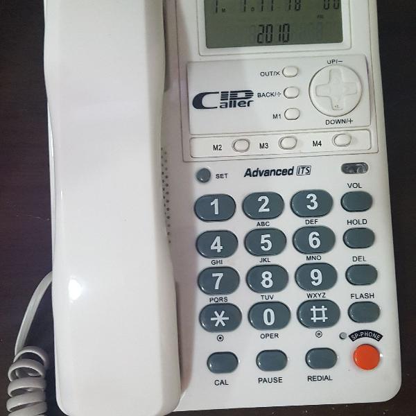 Telefone com fio e viva voz