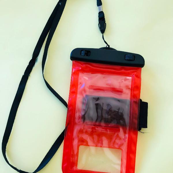 Capa bolsa celular a prova dágua proteção- mergulhos e