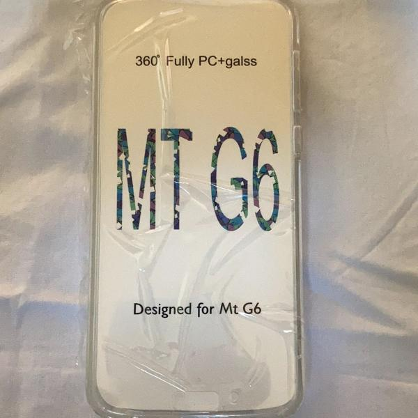 Capa para celular motorola g6