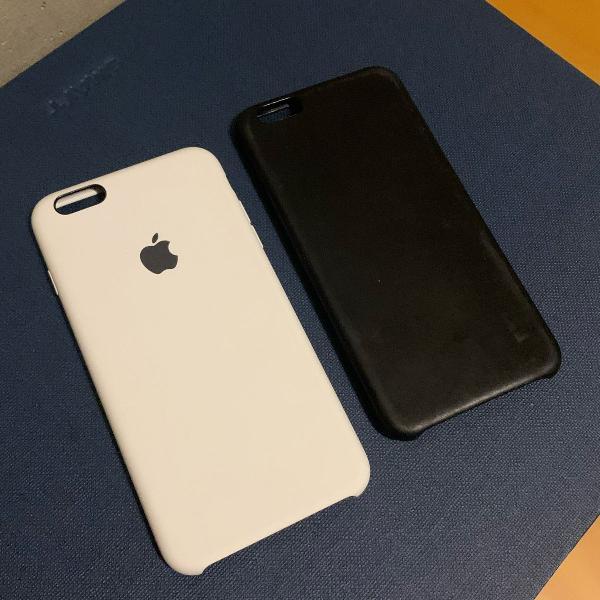 Capas iphone 6 e 6s plus originais