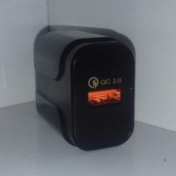 Carregador original rock carga rápida 3.0 quick charge