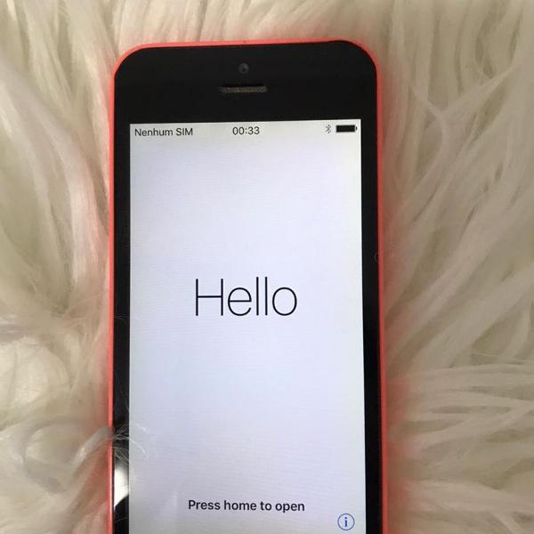 Celular iphone 5c rosa
