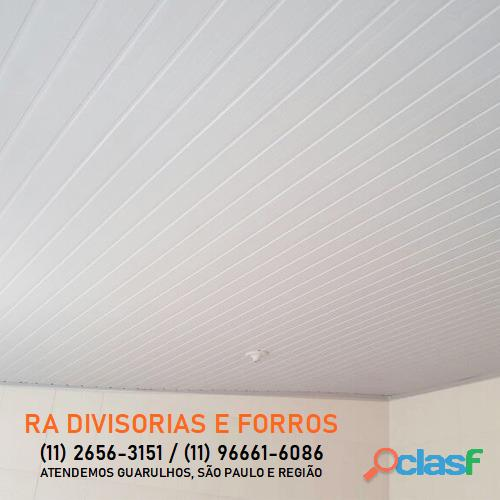 Divisoria em Guarulhos SP eucatex drywall forro isopor pvc vidro divisorias usadas 1