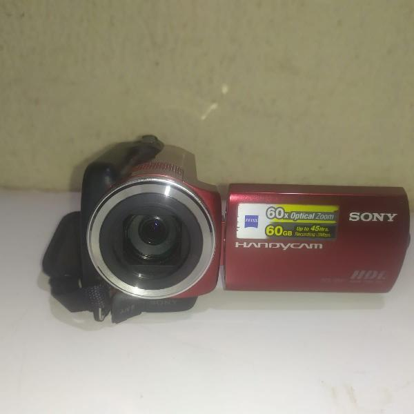 Filmadora digital hdd sony handycam dcr sr47 60gb de