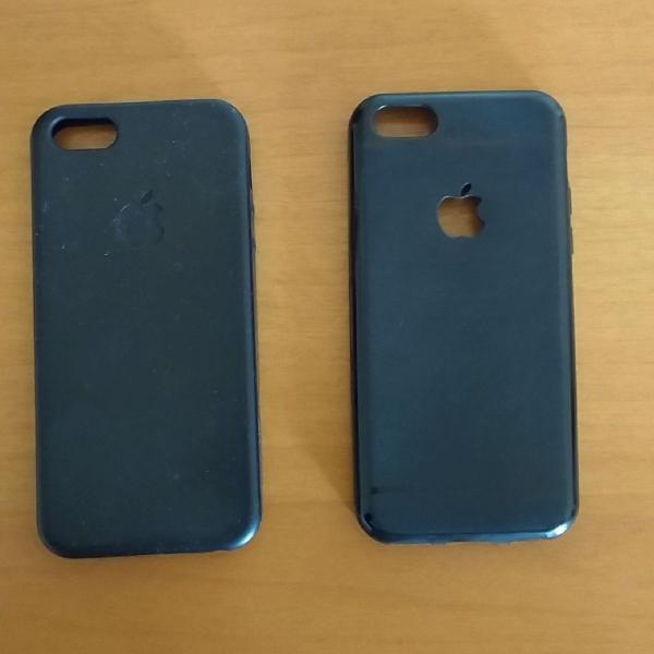 Kit capinhas iphone 5/5s