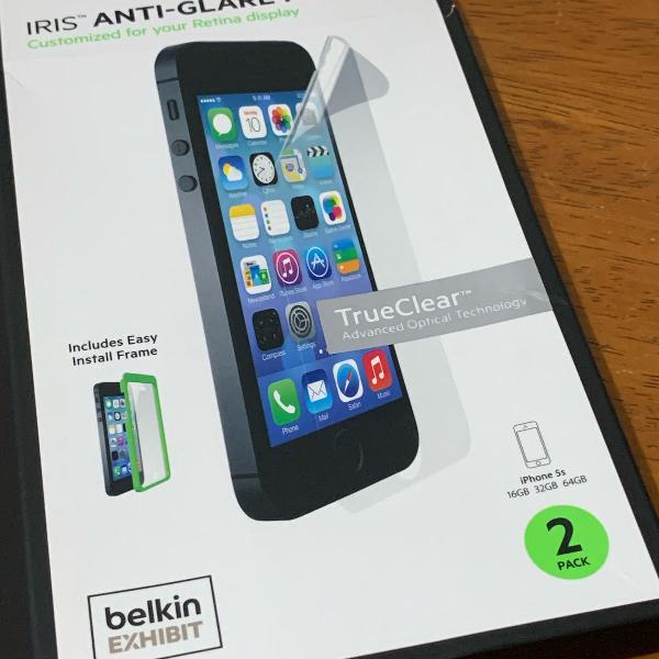 Protetor de tela belkin iphone 5s