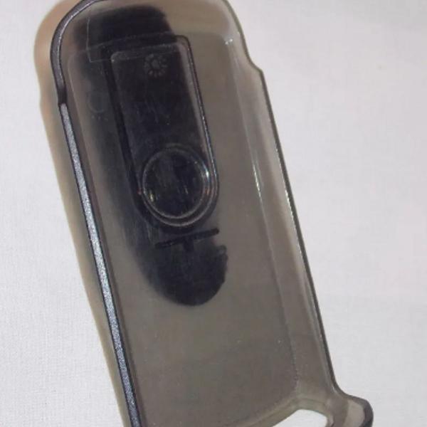 Suporte belt clip motorola preto transparente