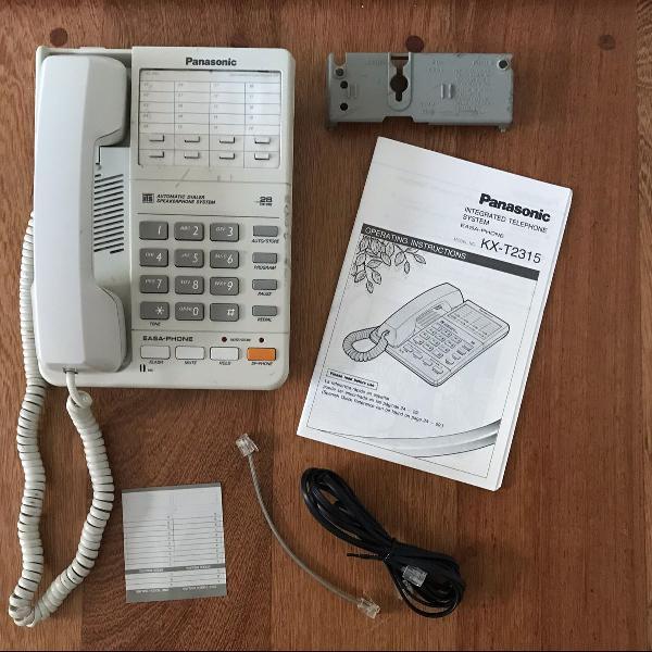 Telefone panasonic kx-t2315